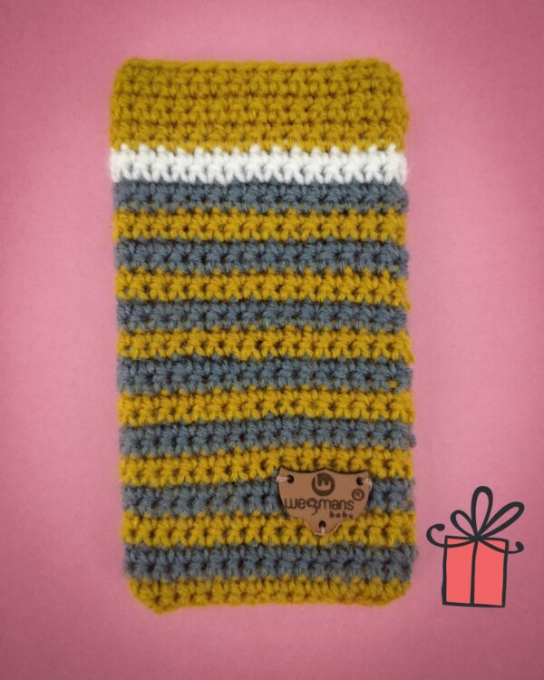 gray-strip-yellow-mobile-cover