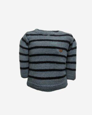 Grey Black Sweater