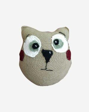 Woolen Grey Toy Cat1