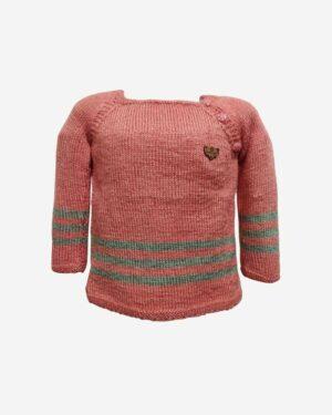 orangered Green Sweater