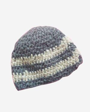 Gray Woolen Cap