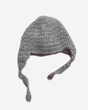 Light Gray Cap Woolen