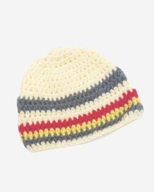 Multicolored Handmade Woolen Cap2