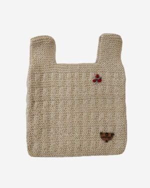 Beige Half Sweater