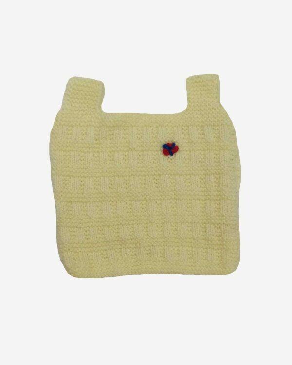 Cream Half Sweater