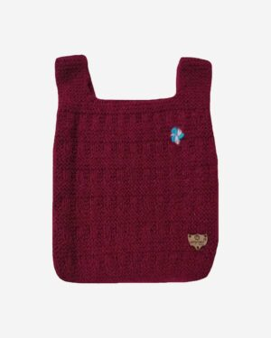 Maroon Half Sweater