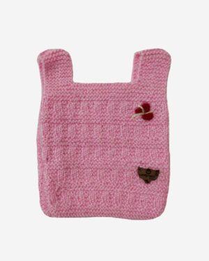 Pink Half Sweater
