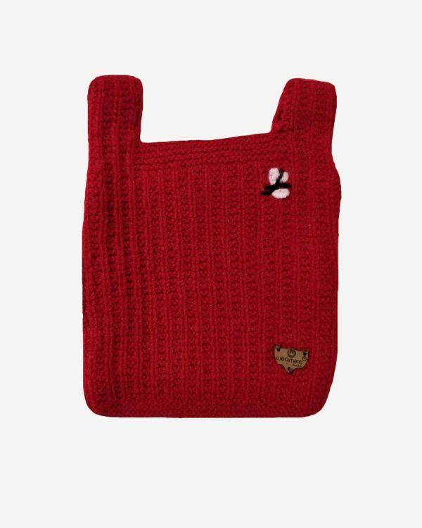 Red Half Sweater