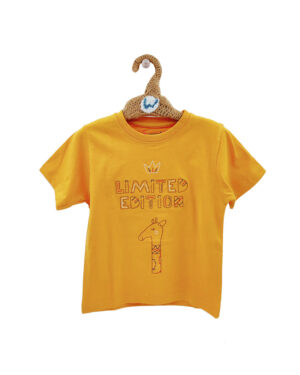 yellow tshirts embroidered